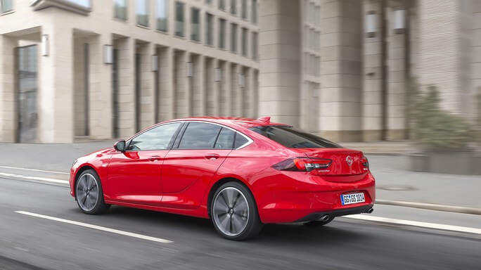 opel insignia new Rear