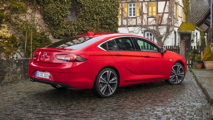 opel insignia new Side