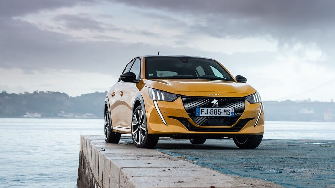 peugeot 208 new Front