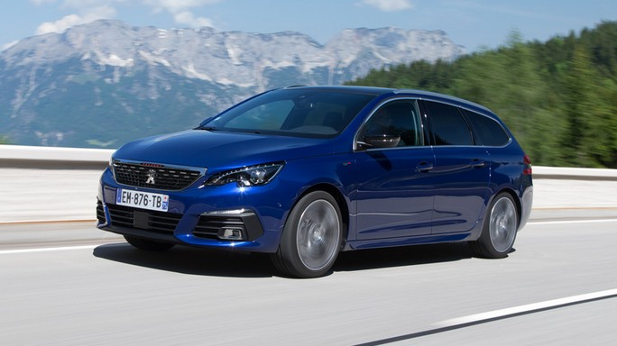 peugeot 308 SW new Front