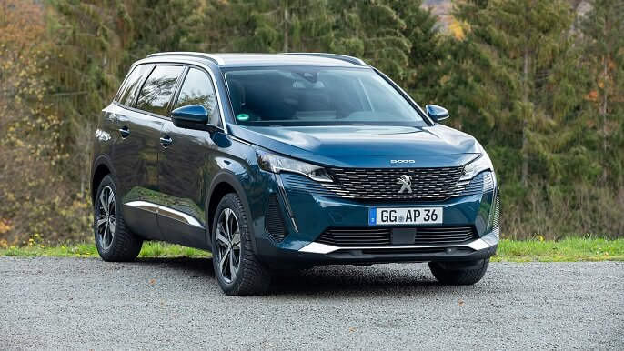 peugeot 5008 new Front