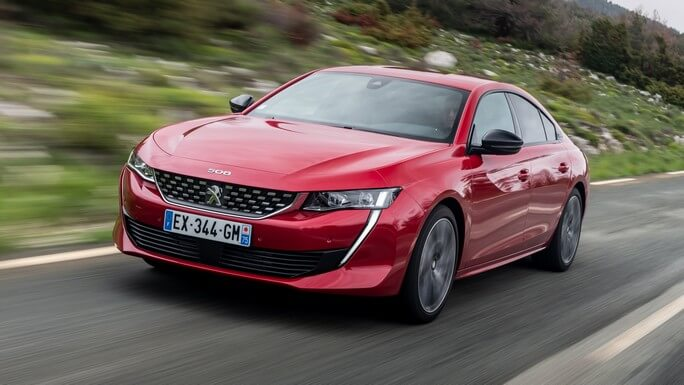 peugeot 508 new Extra