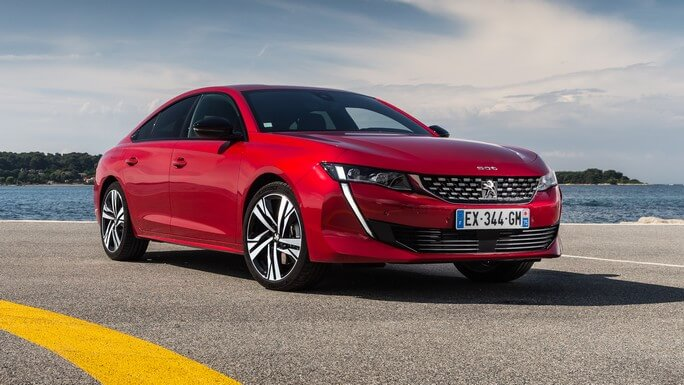peugeot 508 new Front