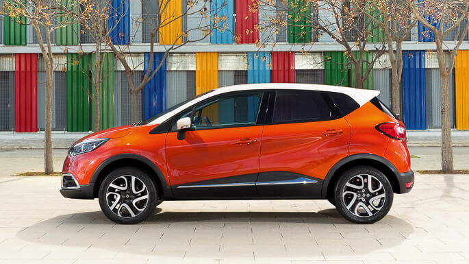 renault captur 2013 Side
