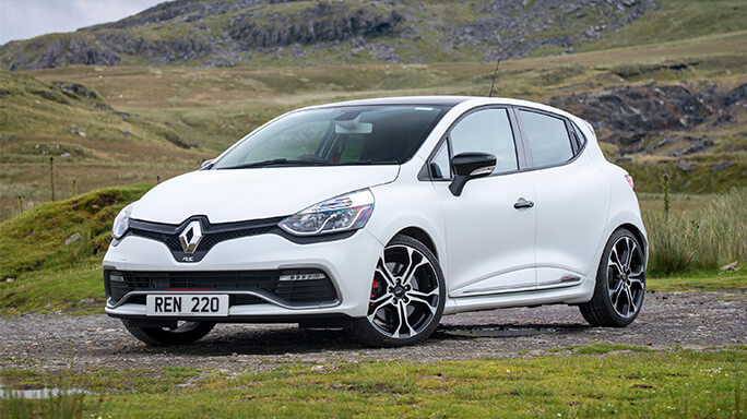renault clio sport new Front