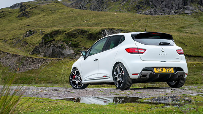renault clio sport new Rear