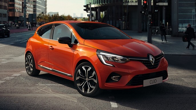 renault clio new Front
