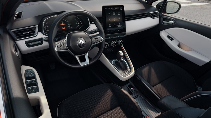 renault clio new Interior