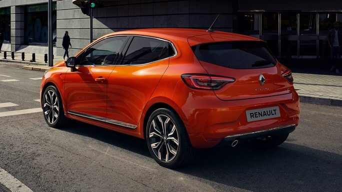 renault clio new Rear