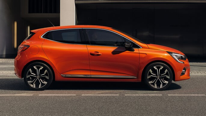renault clio new Side
