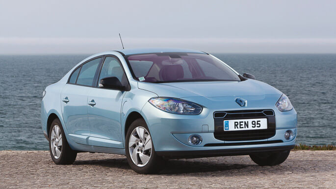 renault fluence electric 2011 Front