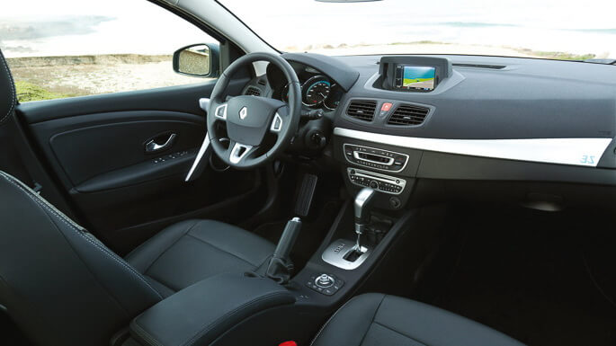 renault fluence electric 2011 Interior