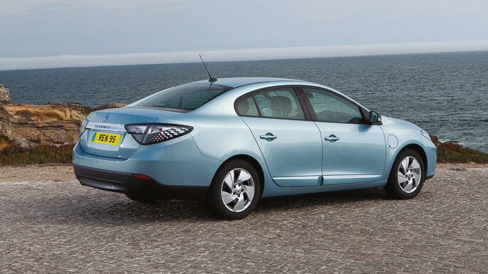 renault fluence electric 2011 Rear