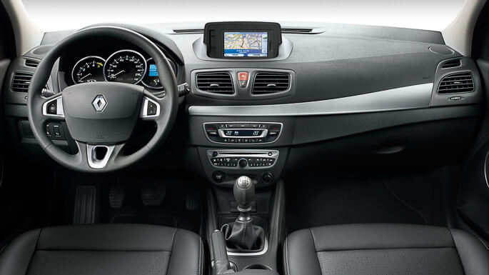 renault fluence 2009 Interior