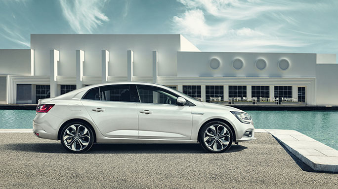 renault grand scenic new Side