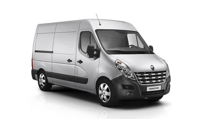 renault master 2010 Front