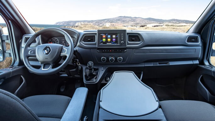renault master new Interior