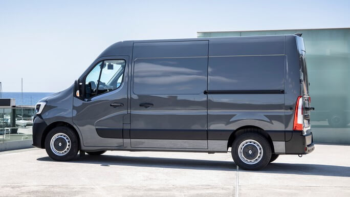 renault master new Side