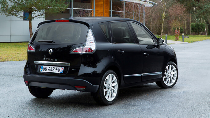 renault scenic 2010 Rear