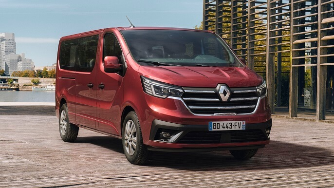 renault trafic new Front