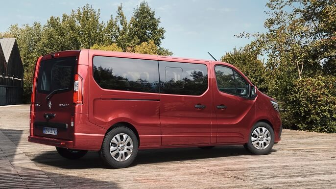 renault trafic new Rear
