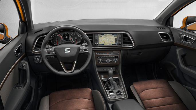 seat ateca New interior