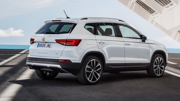 seat ateca New rear