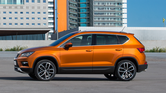 seat ateca New side