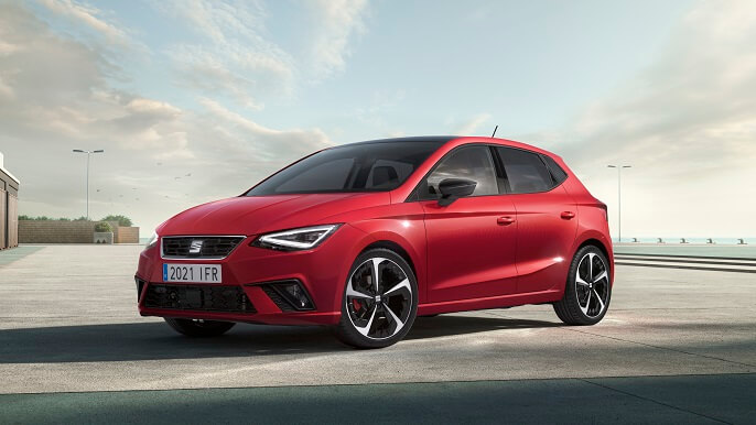 seat ibiza new Front