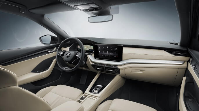 skoda octavia new Interior