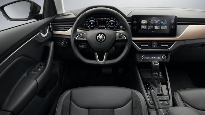 skoda scala new Interior