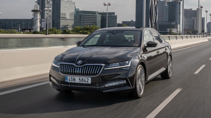 skoda superb new Extra