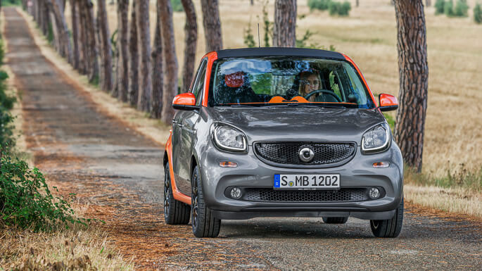 smart forfour new Extra