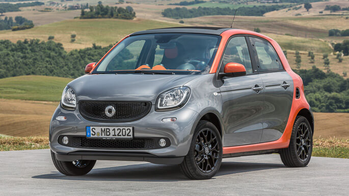 smart forfour new Front