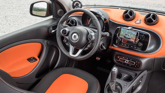 smart forfour new Interior