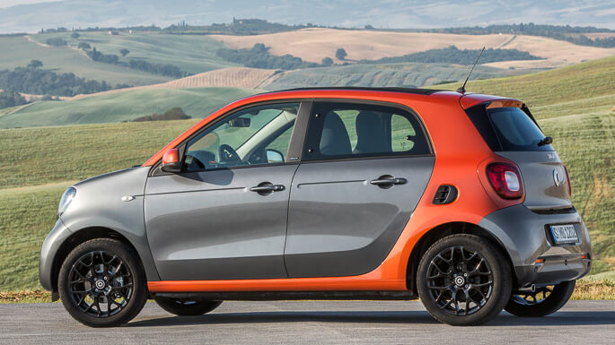 smart forfour new Side
