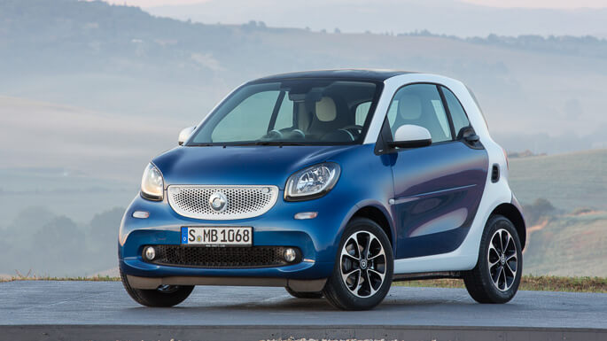 smart fortwo new Front