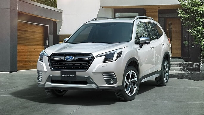 subaru forester new Front