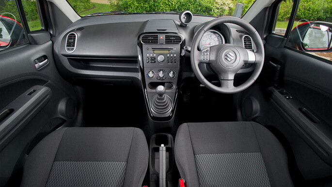 suzuki splash 2012 Interior