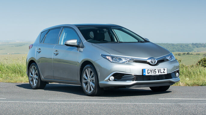 toyota auris new Front
