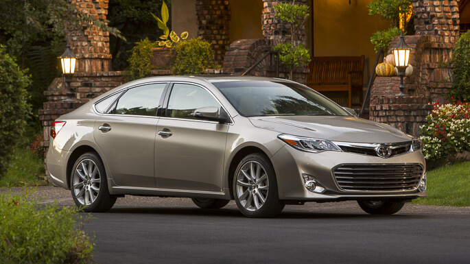 toyota avalon 2015 Front