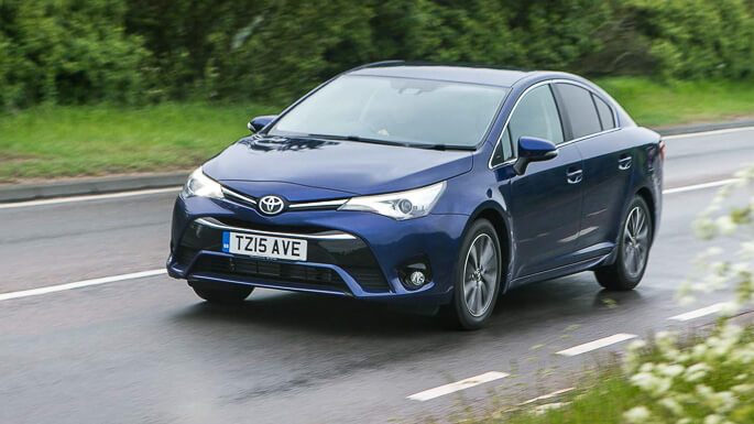 toyota avensis new Extra