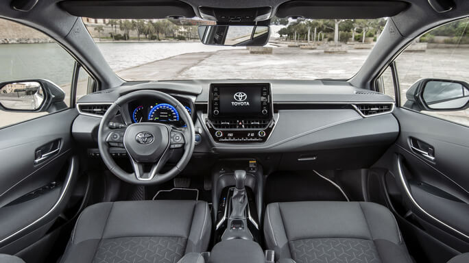 toyota corolla touring sports new Interior