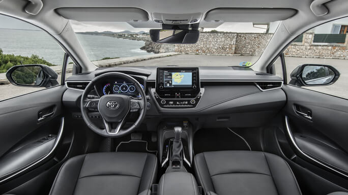 toyota corolla new Interior
