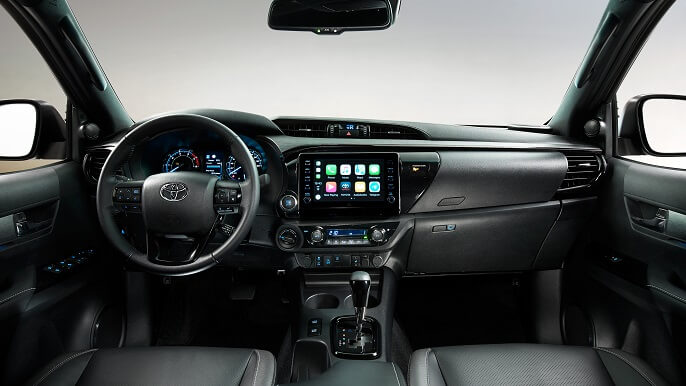 toyota hilux new Interior