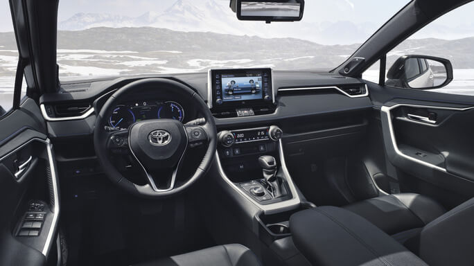 toyota rav4 hybrid new Interior