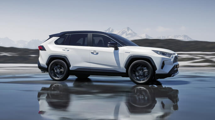 toyota rav4 hybrid new Side
