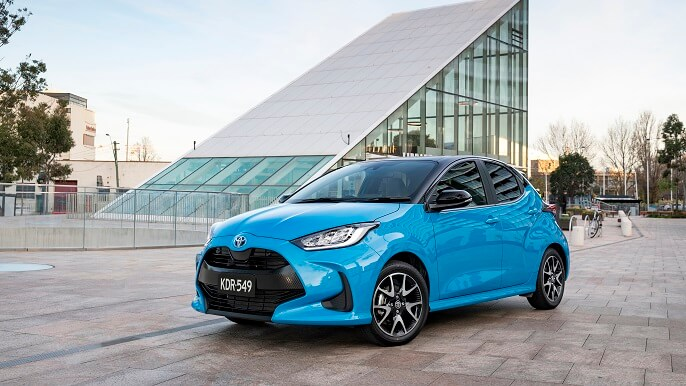 toyota yaris new Front
