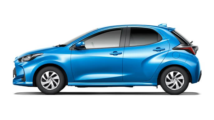 toyota yaris new Side