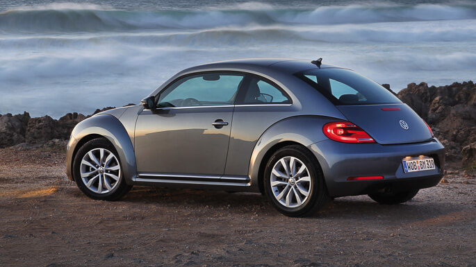 volkswagen beetle 2014 Side